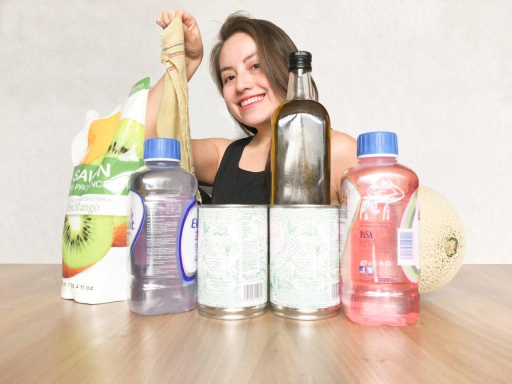 Como limpiar y desinfectar las compras y productos para evitar el CORONAVIRUS